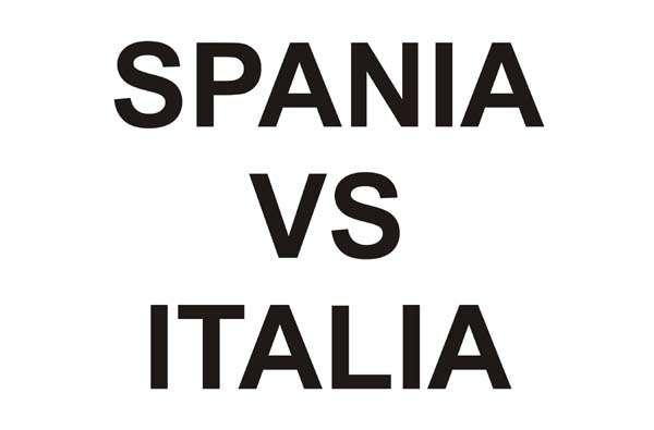 Spania vs Italia