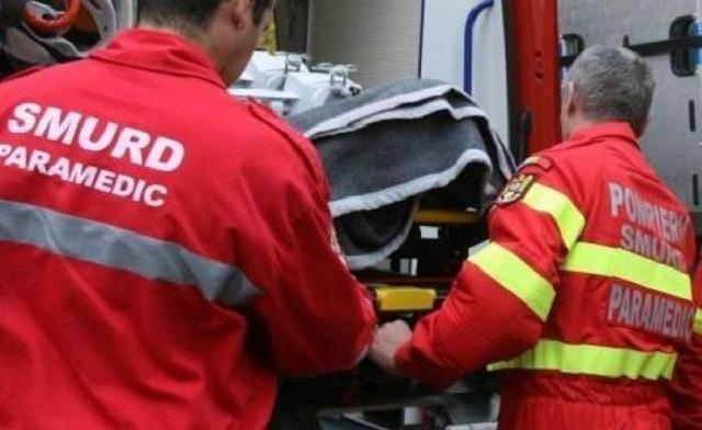 Accident grav in Simleu Silvaniei. Victima inconstienta
