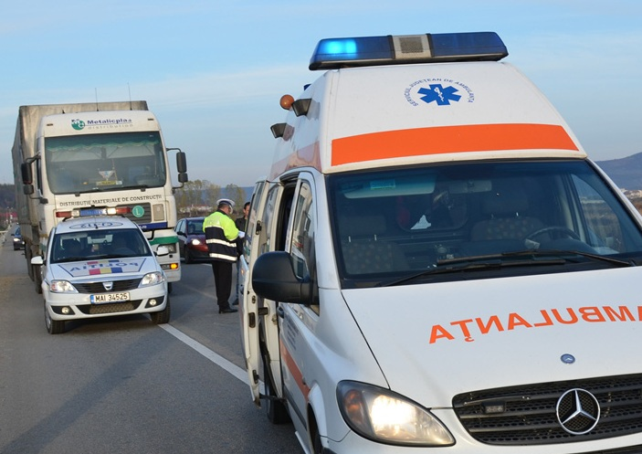 Accident in Pericei