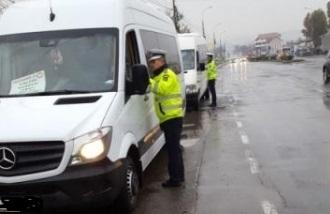 Acţiunile continuă:Transportul de persoane în atenţia poliţiştilor