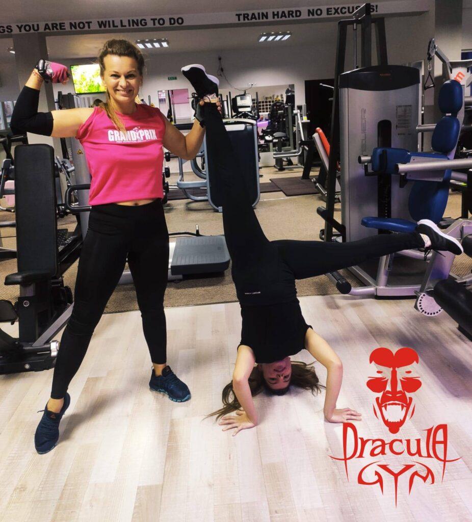 Hai la sala Dracula Gym de luni
