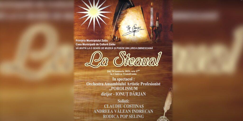 Seara de muzica si poezie din lirica Eminesciana