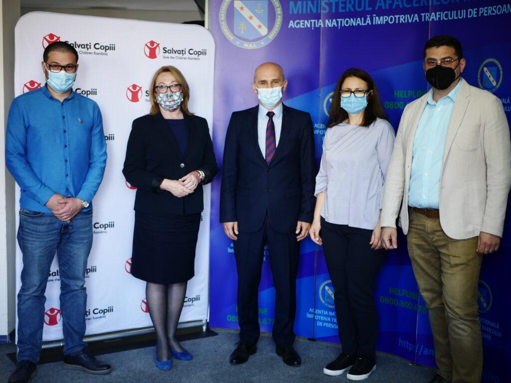 Semnarea Protocolului de colaborare cu Asociația Salvați Copiii România