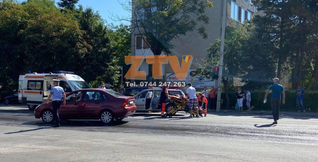 ACCIDENT IN ZALAU IMPLICATE 3 MASINI