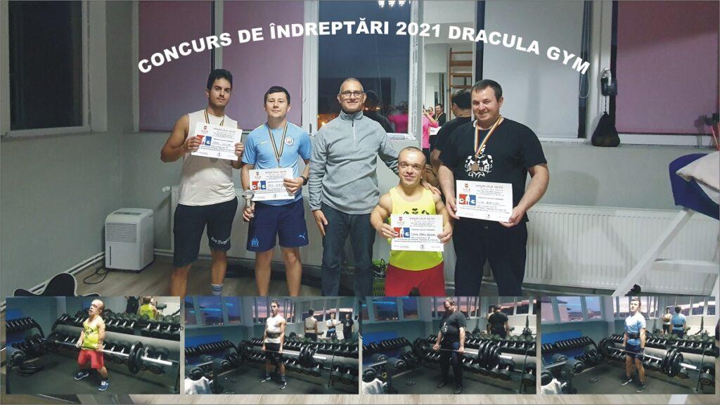 Concurs de indreptari la sala Dracula Gym