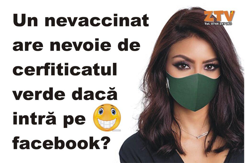 Un nevaccinat are nevoie de mască dacă intră … ?